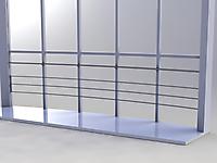 Ограждение застекленного балкона