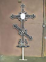 Крест на могилу по эскизу 07