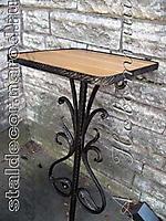 Кованый столик для могилу
