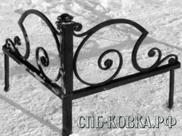 Уголок на могилу 13  - 6 500 рублей/шт.