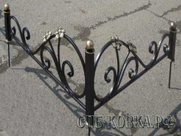 Уголок на могилу 05  - 5500 рублей/шт.