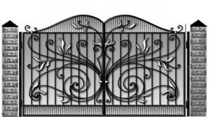 Кованые ворота 099