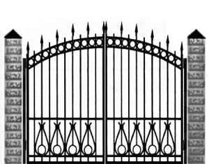 Кованые ворота 035