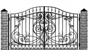 Кованые ворота 098