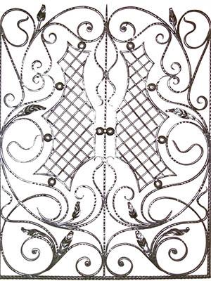 Кованая решетка 056